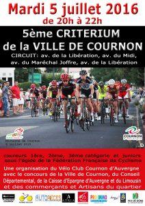 CRITERIUM AMATEUR de Cournon d'Auvergne @ cournon d'auvergne | Cournon-d'Auvergne | Auvergne | France