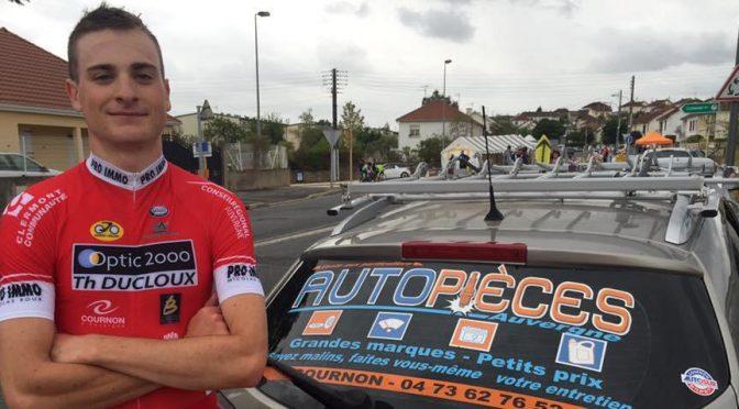 Simon Cavagna Champion d'Auvergne de contre la montre