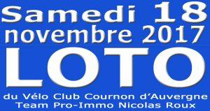 LOTO DU VCCA @ salle polyvalente | Cournon-d'Auvergne | Auvergne | France