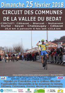 Circuit des Communes de la Vallée du Bédat @ Cebazat | Cébazat | Auvergne-Rhône-Alpes | France