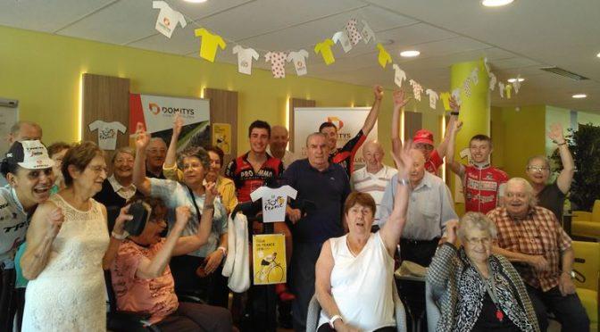 Le VCCA démarre le Tour de France avec DOMITYS !
