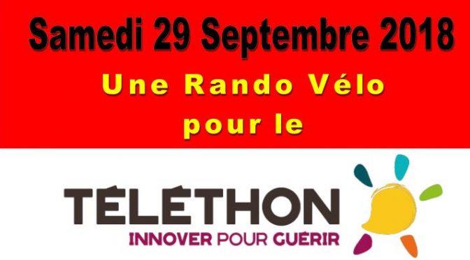 Le Vélo Club Cournon d'Auvergne en avance pour le Telethon