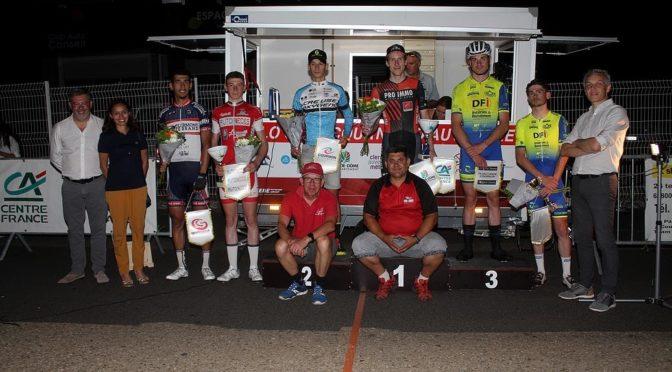 Amaury Pacouret vainqueur au Critérium de Cournon