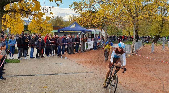 Romain Bardet au cyclo-cross de Cournon