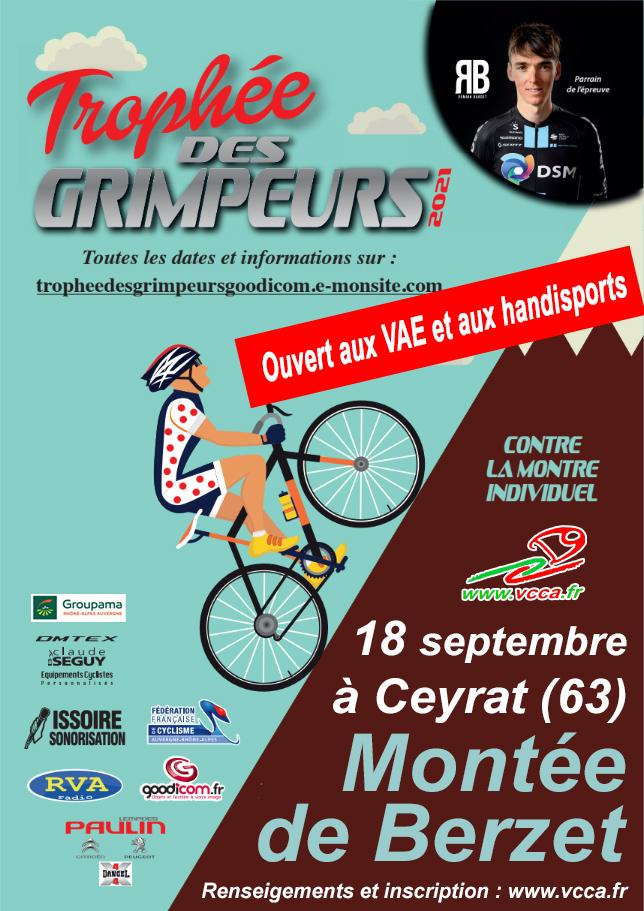 TROPHEE DES GRIMPEURS - GOODICOM - Montée de Berzet @ Parking Beaulieu