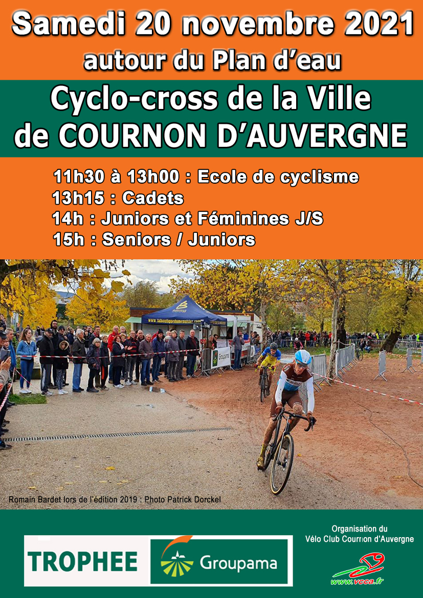 Cyclo-cross GROUPAMA @ Plan d'eau de Cournon d'Auvergne