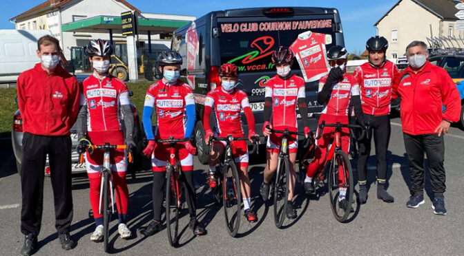 Tour du Cantal Cadets, les coureurs du VCCA ont bien figurés.