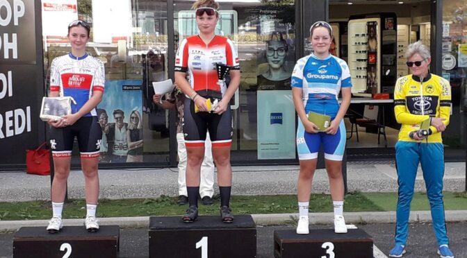 Anouk BRUGET remporte le Critérium OPTIC 2000